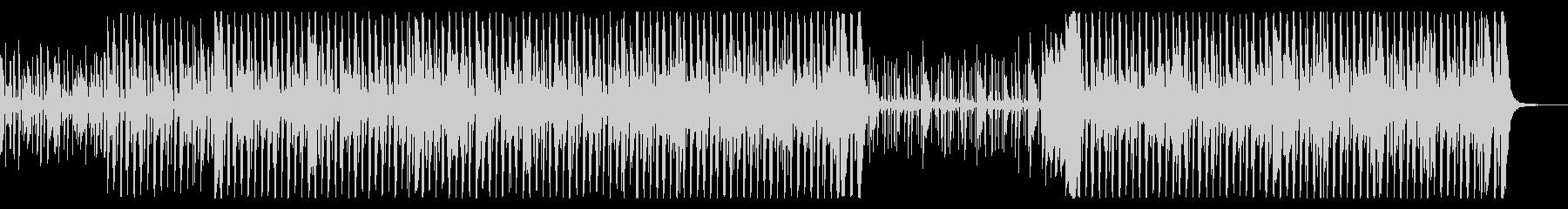 ファンクとソウルの要素を備えたグルーヴィの未再生の波形
