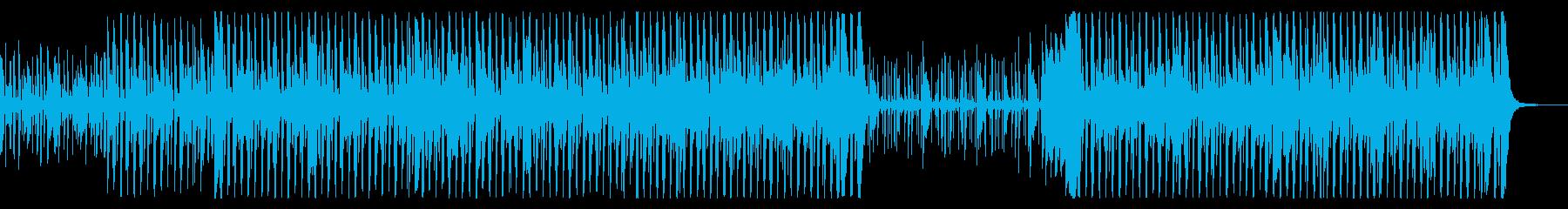 ファンクとソウルの要素を備えたグルーヴィの再生済みの波形