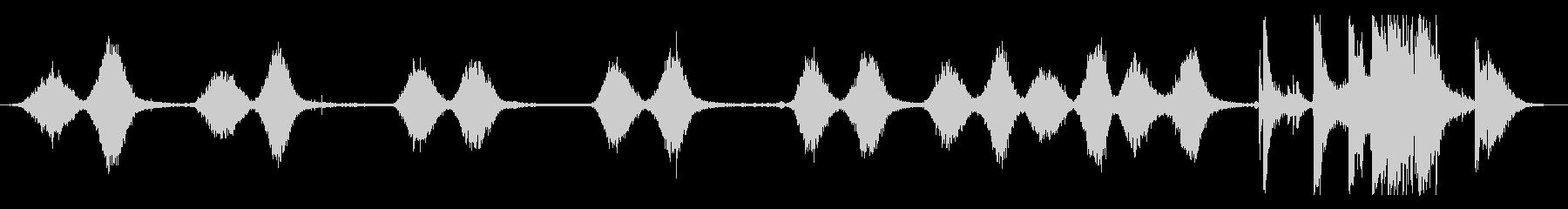 レッグマシン:さまざまなREPS、...の未再生の波形