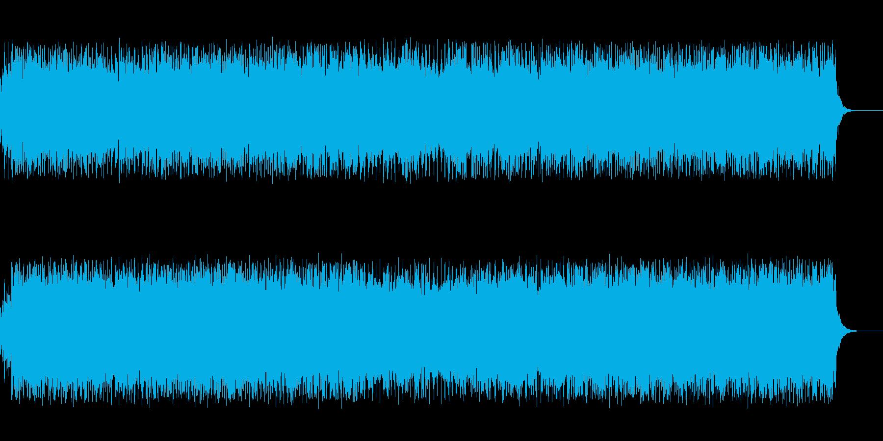 アップテンポの陽気なカントリーサウンドの再生済みの波形
