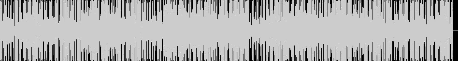 電子楽器。 「水っぽい」効果のある...の未再生の波形