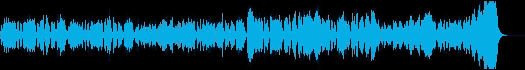 凱旋行進曲(サッカーで有名なあの曲)の再生済みの波形