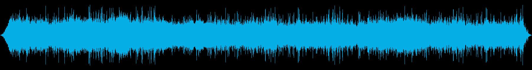 口histを吹く風:激しいラピッド...の再生済みの波形