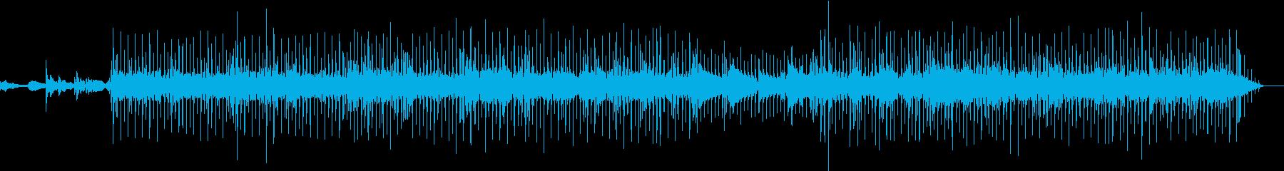 ワクワク感のあるギターポップスの再生済みの波形