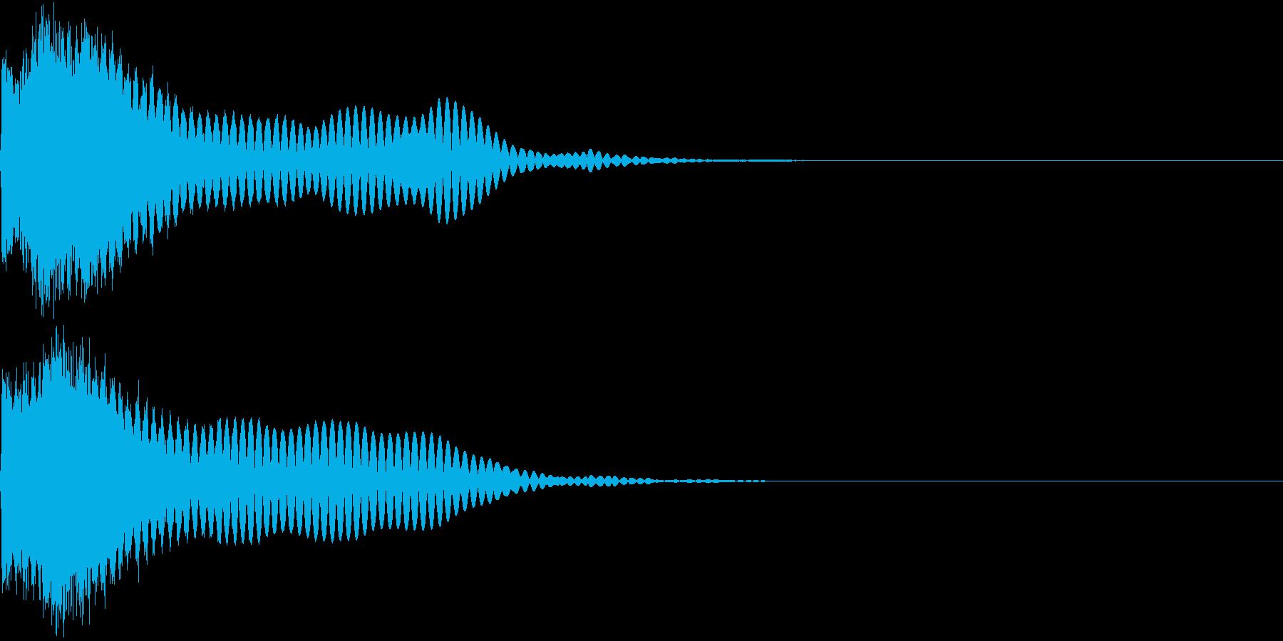 刀 キーン 剣 リアル インパクト Lの再生済みの波形