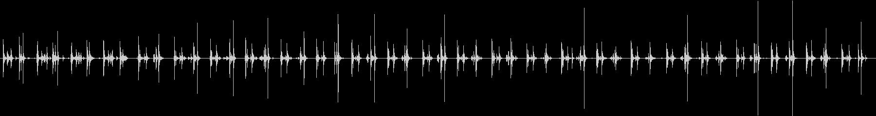 ロッキングチェア、ウッドフロア、バ...の未再生の波形