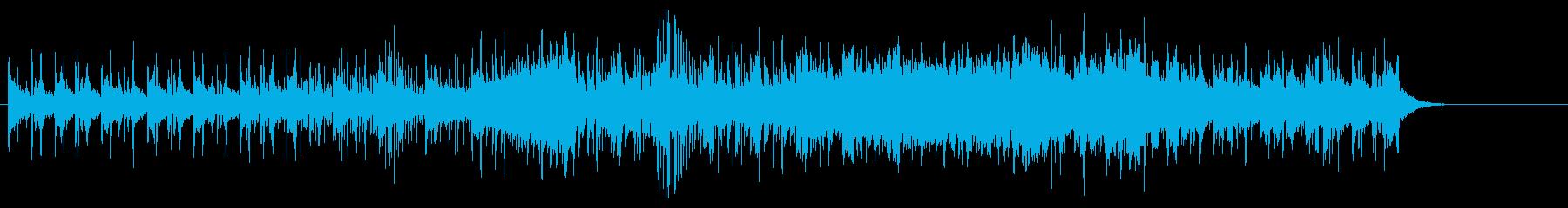 マイナー・アンビ系テクノ風ポップスの再生済みの波形