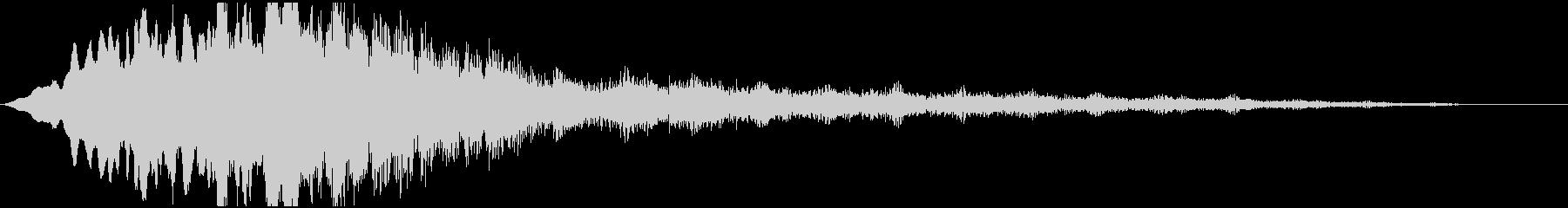 パルサーロゴ4の未再生の波形