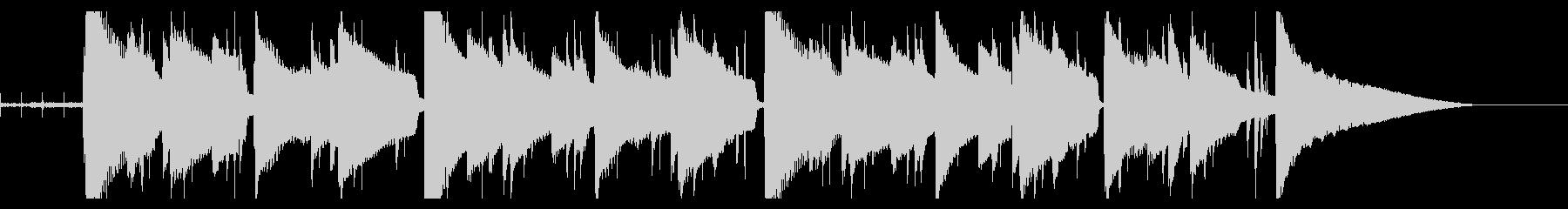 Lo-fi Ending エンディングの未再生の波形