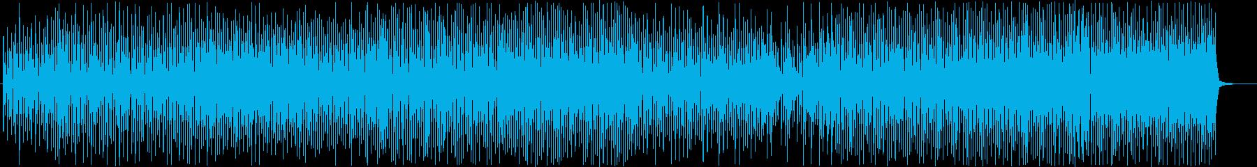 可愛い清涼感のあるフューチャーポップの再生済みの波形