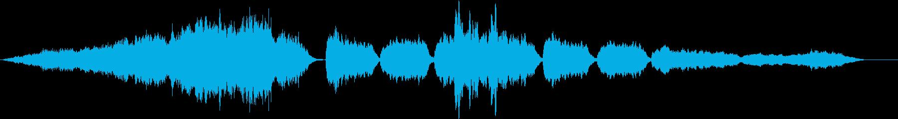エピローグの始まりを予感させる優しい旋律の再生済みの波形