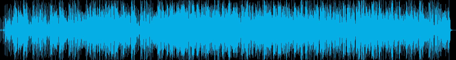 BGM_おしゃれなピアノトリオジャズの再生済みの波形