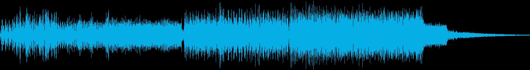 ゲーム、クリア、発表、達成効果音08の再生済みの波形
