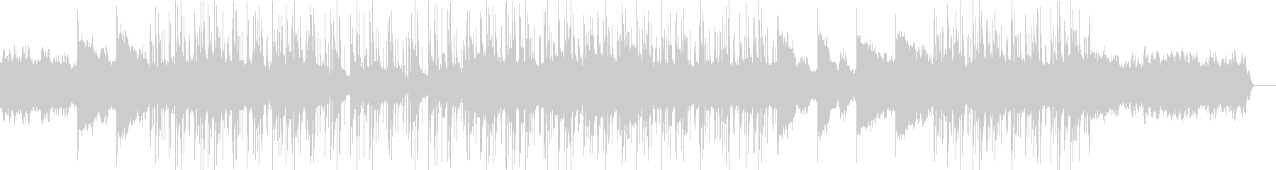 爽やかなアルペジオ - POPの未再生の波形