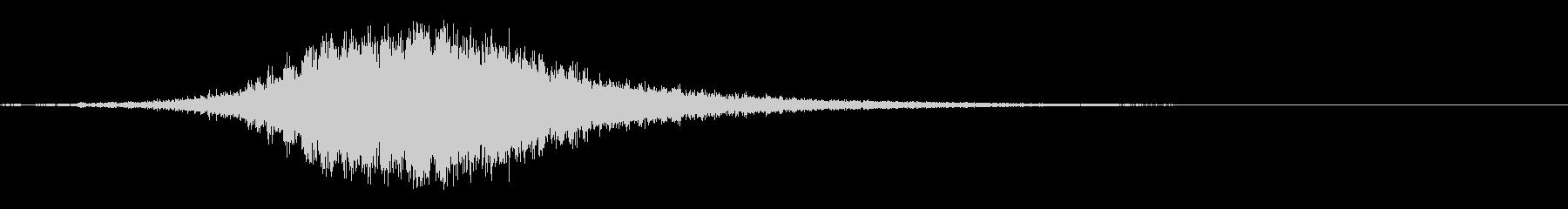 シンバル:ショートクレッシェンド、...の未再生の波形