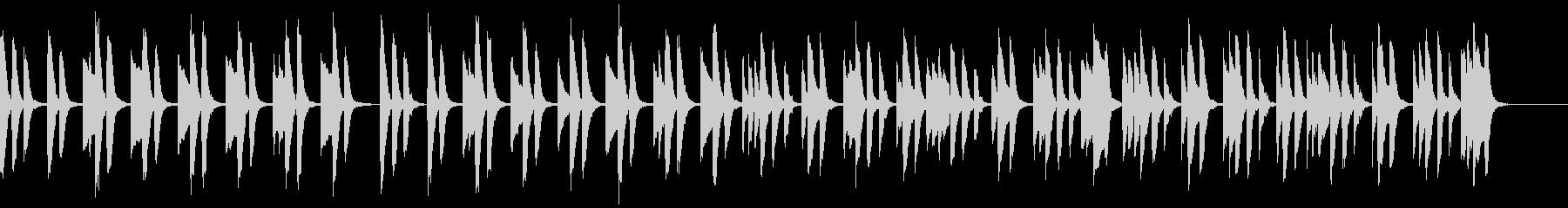 知育・料理・パズル・日常ピアノ14Aの未再生の波形
