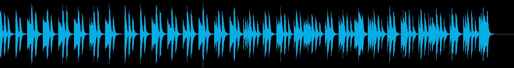 知育・料理・パズル・日常ピアノ14Aの再生済みの波形