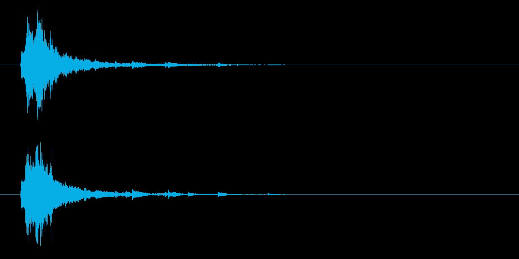 シャラン☆神楽鈴の再生済みの波形