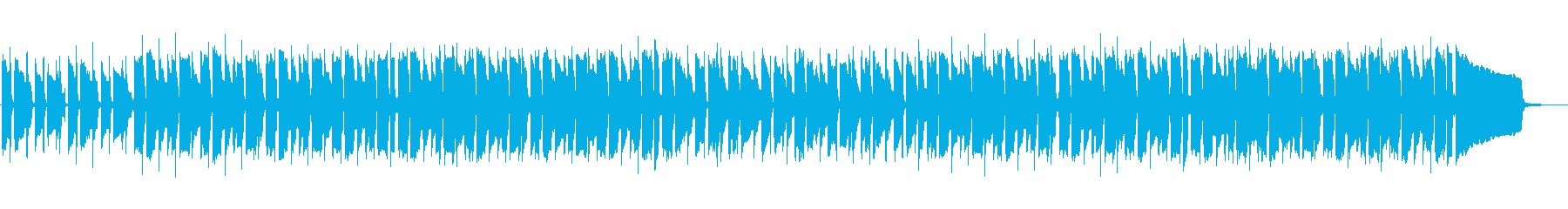 [Without guitar] Summer relaxing on the beach in Hawaii's reproduced waveform