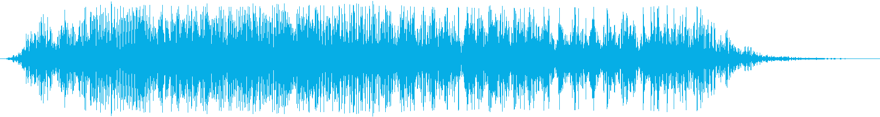 アフリカライオンの咆哮(少し長め)の再生済みの波形