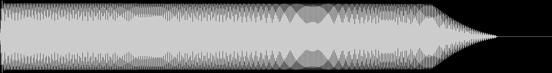 メタルコアベースドロップ A1→A0の未再生の波形