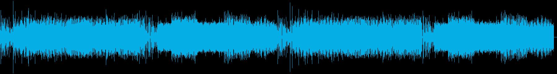 軽快な感じのエレクトロの再生済みの波形