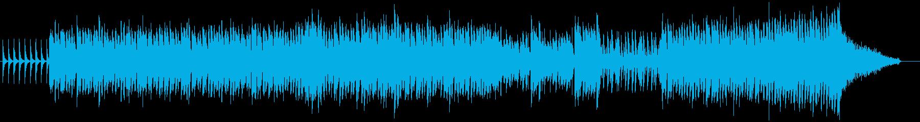 元気で楽しいオーケストラポップの再生済みの波形