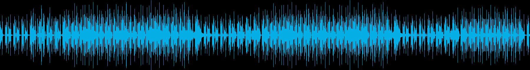 ギター・渋い・煙草・ブルース・ループの再生済みの波形