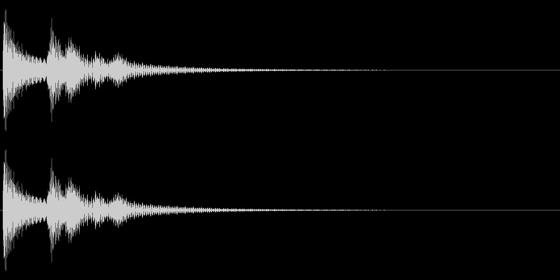 ティロンの未再生の波形