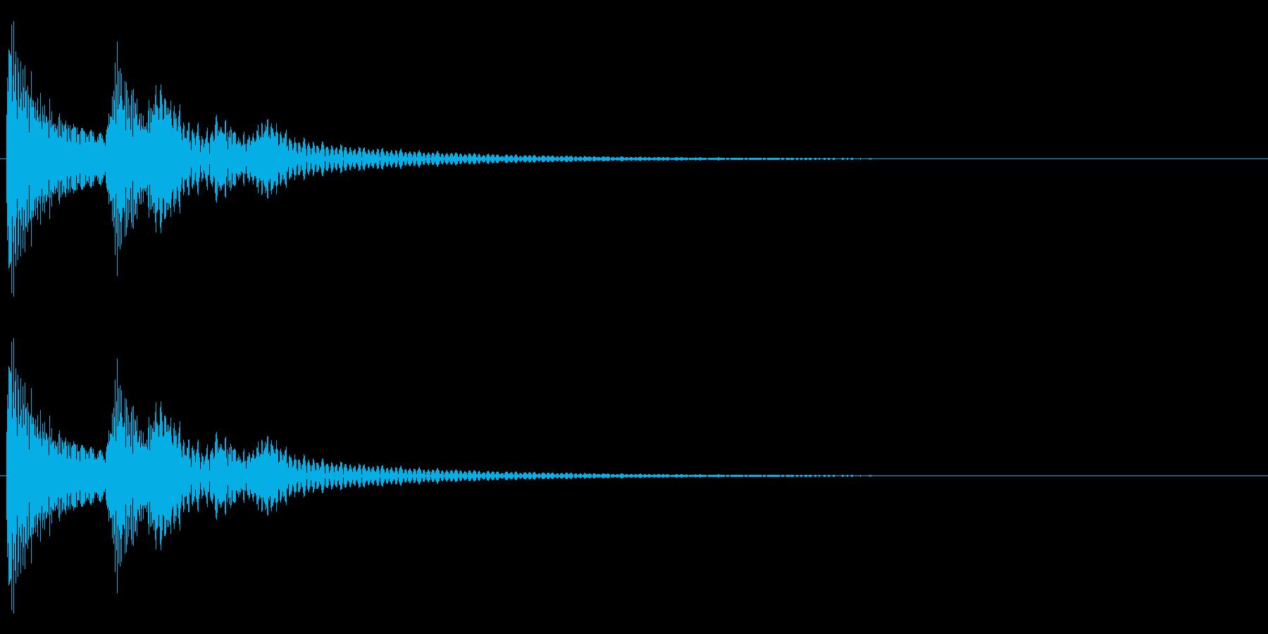 ティロンの再生済みの波形