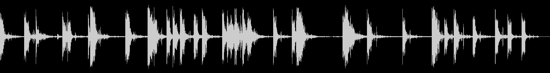 1930年代のハンドガンストリートバトルの未再生の波形
