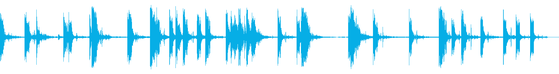 1930年代のハンドガンストリートバトルの再生済みの波形