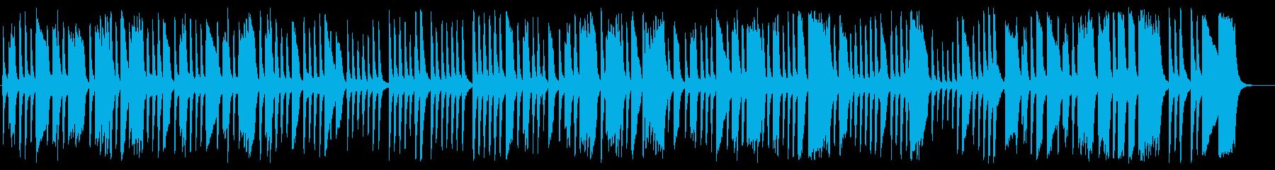 心躍る軽快でクラシカルなピアノソロ曲の再生済みの波形