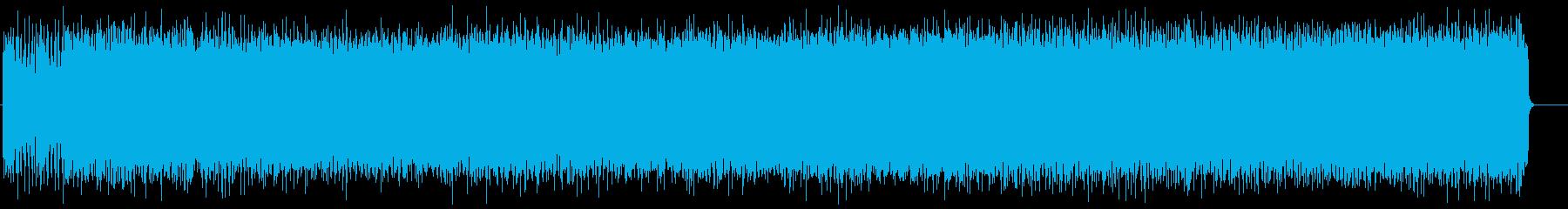 疾走感のあるハードロック(フルサイズ)の再生済みの波形