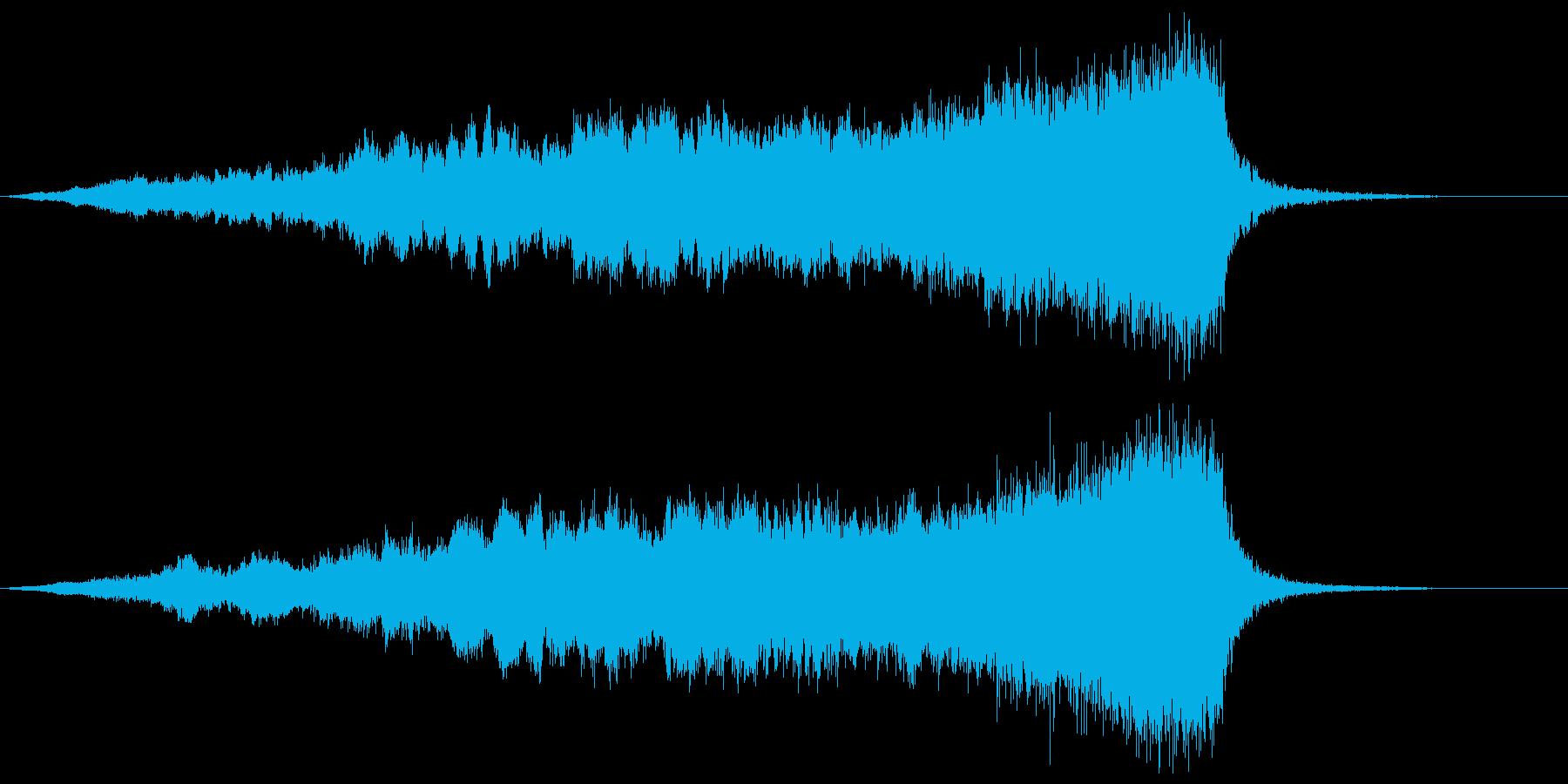 【ライザー】07 SFサウンド 宇宙の再生済みの波形