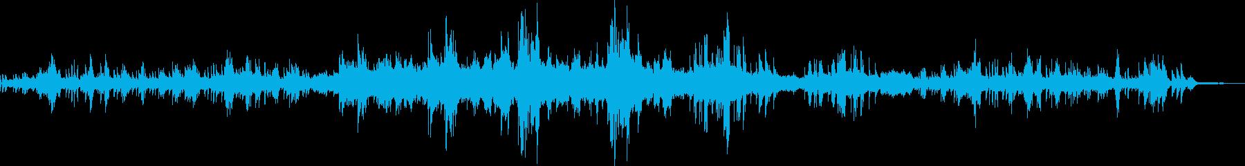 ショパン ノクターン Op9-No1の再生済みの波形