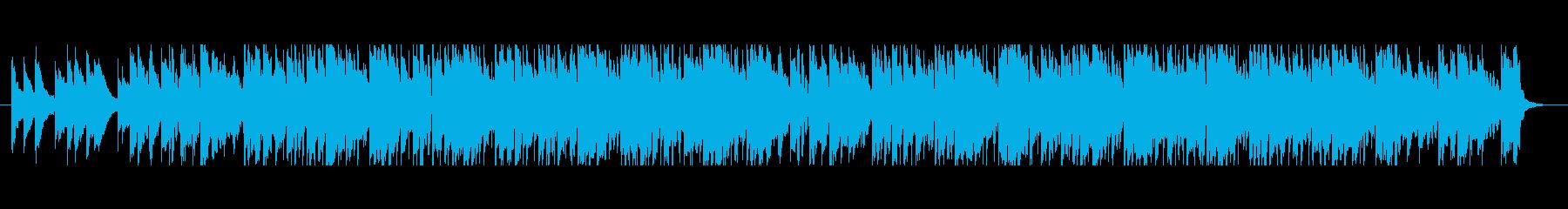 切ないアコギのLo-Fi HipHopの再生済みの波形