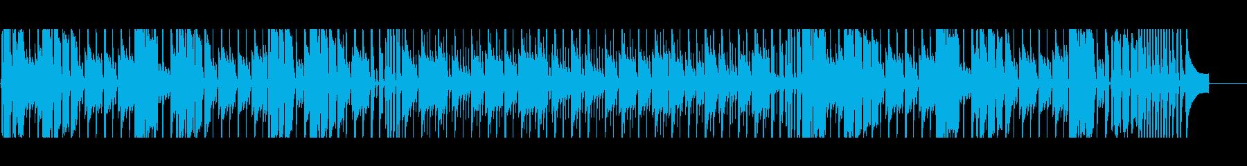 【短いVer3】スローブルースの再生済みの波形