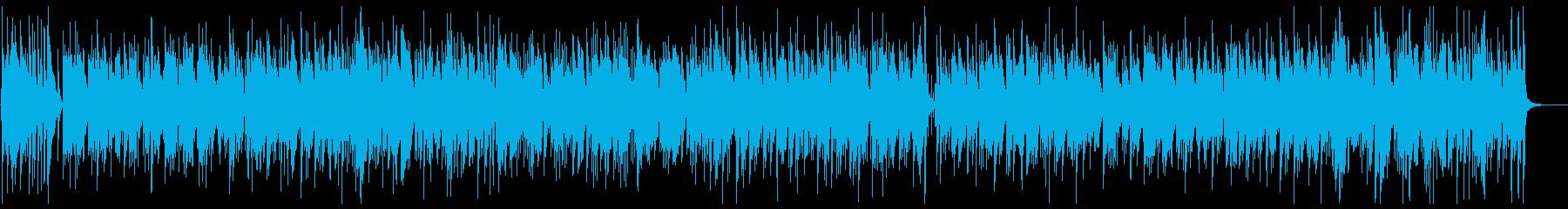軽快なリズムで明るいピアノメロディーの再生済みの波形