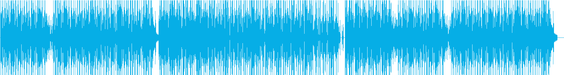 Bright and light BGM's reproduced waveform