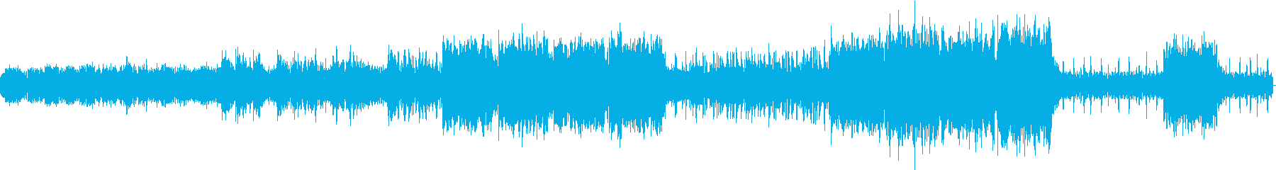 映画トロン風シンセ緊張感ダークなBGMの再生済みの波形