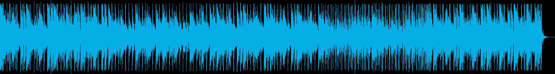 穏やかな夜空を感じるハウスNo680_2の再生済みの波形