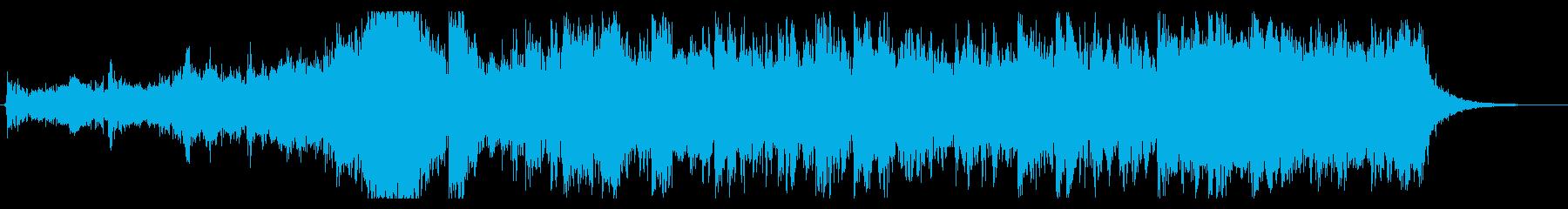 大自然壮大オケ 30秒 pno無の再生済みの波形