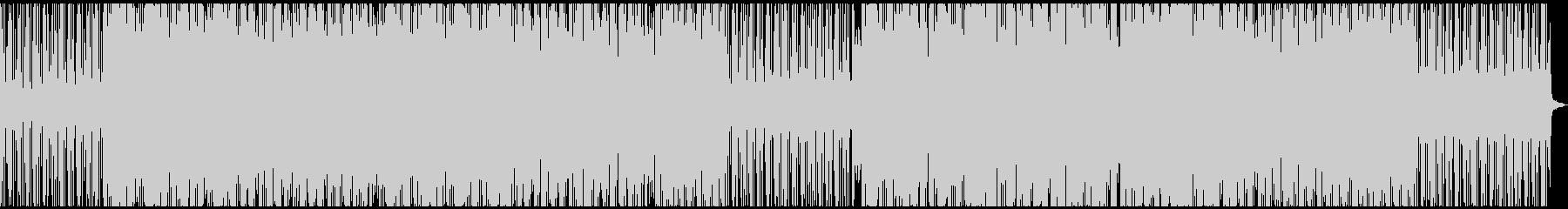 メロウでオシャレなピアノヒップホップの未再生の波形