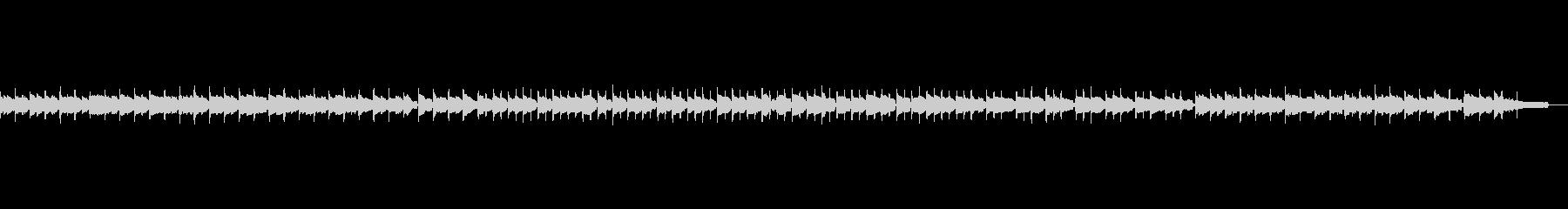 かわいいオルゴール風のBGMの未再生の波形