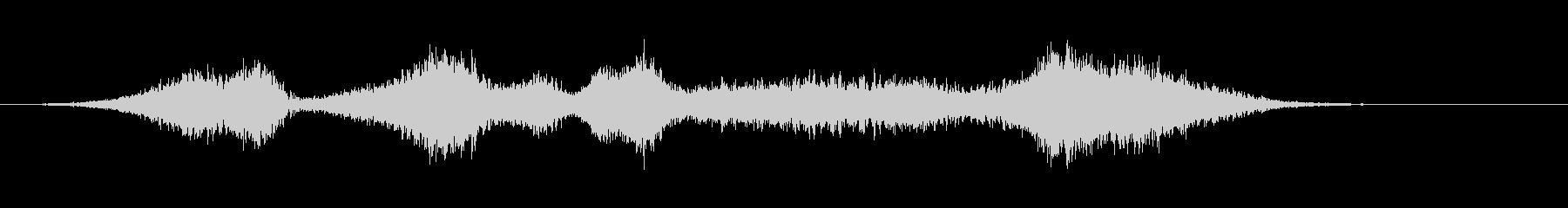 リバーススティンガー;不気味な複数...の未再生の波形