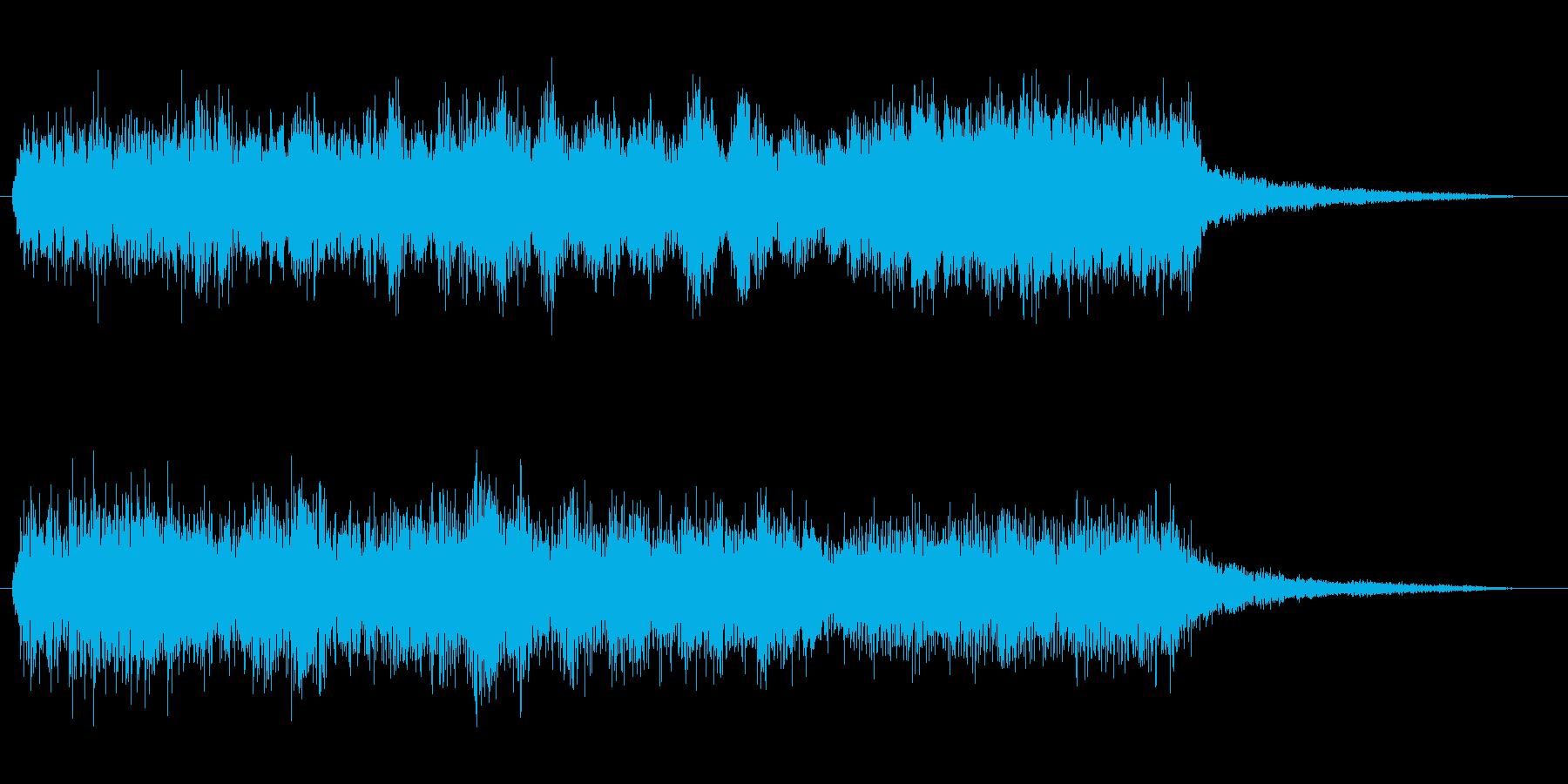 勇壮、重厚めなネオクラシカルフレーズの再生済みの波形