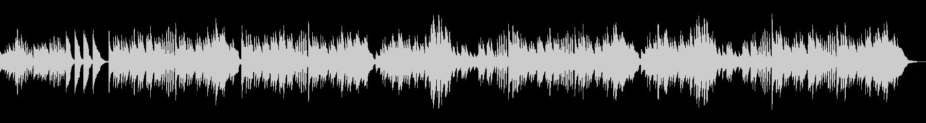 ピアノ練習曲/ブルグミュラー小さなつどいの未再生の波形
