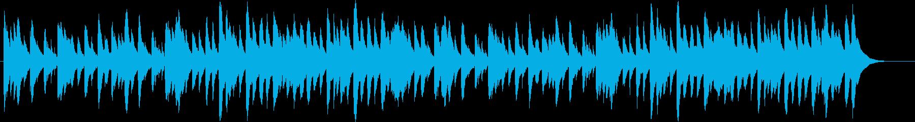 かわいい、きらきらオルゴール曲の再生済みの波形