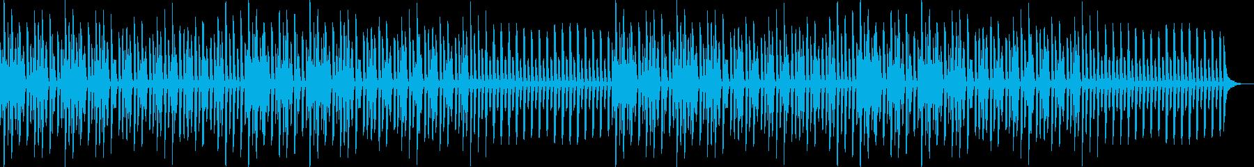 YouTube・楽しい・ほのぼの・ピアノの再生済みの波形